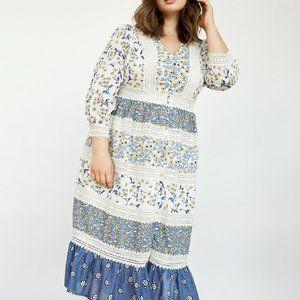 Anthropologie Roberta Midi Dress
